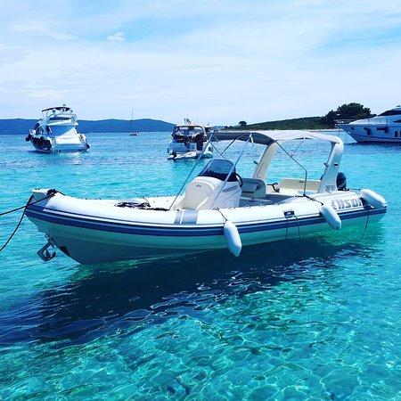 Supetar, Hırvatistan: Alson Rib boat 2018 + Mercury Verado 250 hp