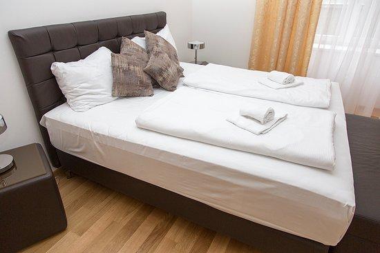 Nadland Apartment Wehlistrasse: Bed