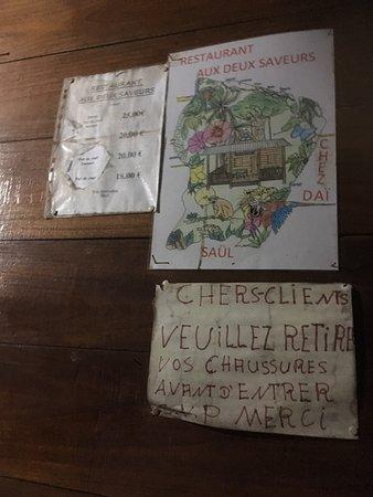 Saul, Guayana Francesa: La carte