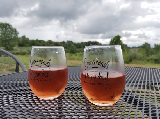 West Terre Haute, IN: Crossroads Uncorked is an annual wine festival. All of their wines are incredible!