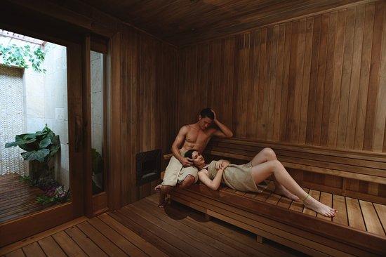 Dry sauna, unforgettable experience