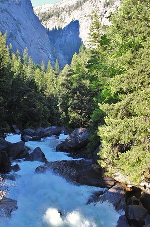 Vernal falls bridge