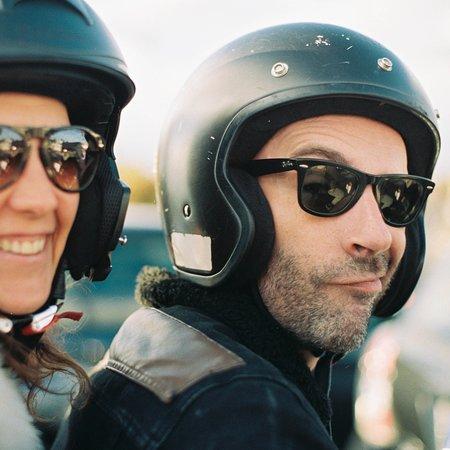 Stadtrundfahrt Hamburg auf E-Mopeds | Kutten Tours