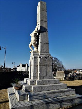 Plouharnel, Francie: Détail du monument