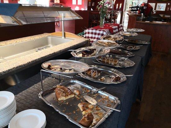 Havneby, Denmark: Cake-buffet
