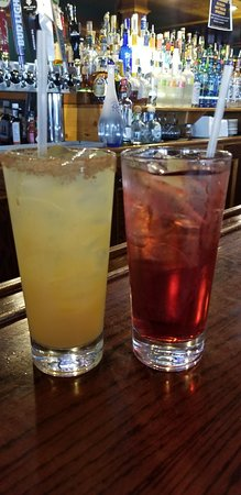 Happy hour 5-7 Monday-Thursday, Friday 4-7, Saturday 12-1 and 8-10 PM.
