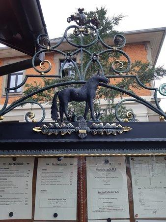 Hoenheim, France: Le Cheval Noir