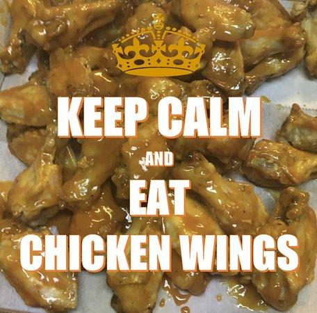 Salem, AR: Keep Calm & Eat Chicken Wings