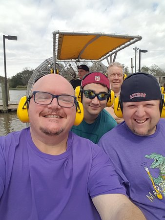 New Orleans Airboat Ride – fotografija