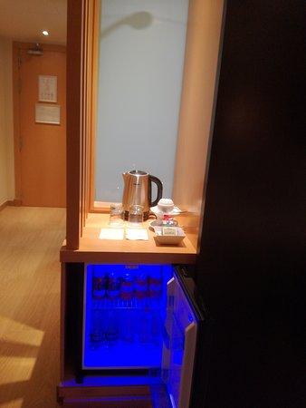 Minibar habitación Hotel Occidental