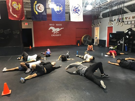 Duluth, GA: Stretching post WOD is an important part of every workout.