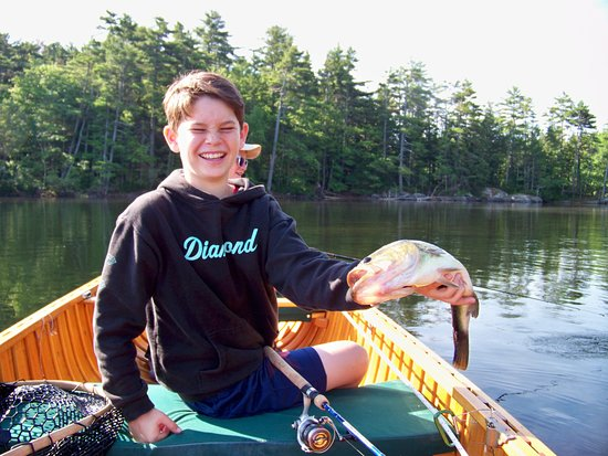 Camden, ME: Bass Fishing on Megunticook