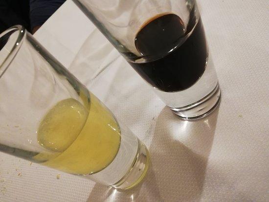 nocino e limoncello per digerire