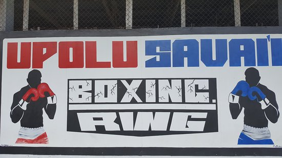 Live boxing every Saturday.