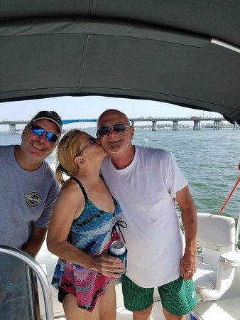 Leaving the Cortez bridge