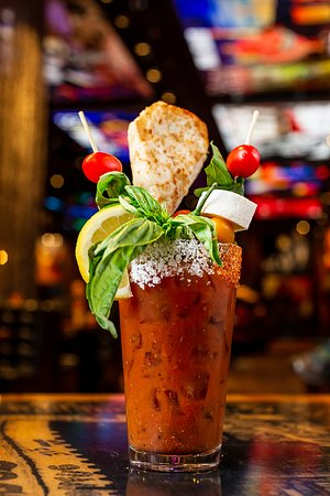 Try our new Bloody Marys at Rock & Brews Brunch, every Weekend 10am -2pm.