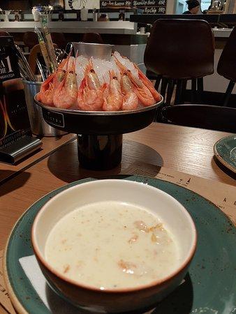 Новое приличное заведение от сети Boston seafood