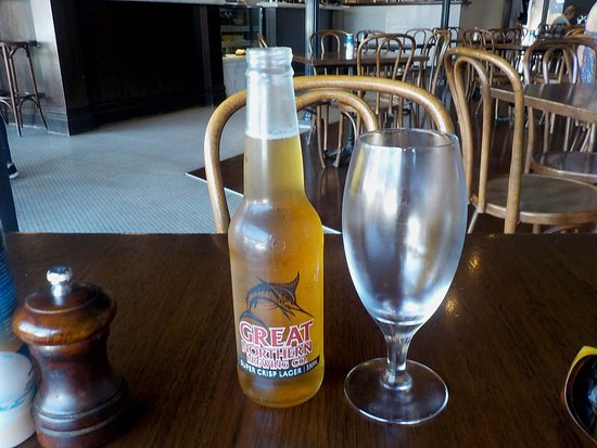 Biagio's: A chilled glass for a cold beer