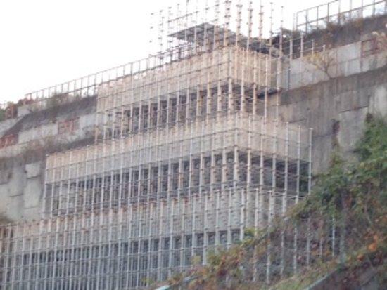 Kure, Japón: 巨大なジャングルジムの様子