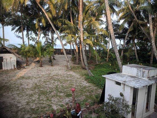 Beach view rooms