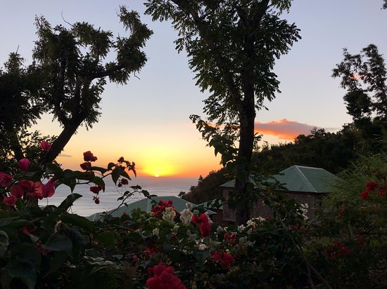 Jungle Bay Dominica: Best sunsets in Dominica