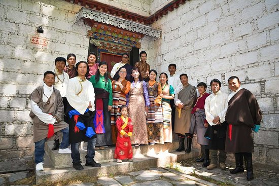 Lhasa, China: This our Tibet travel team at the I-Tibet travel and tours