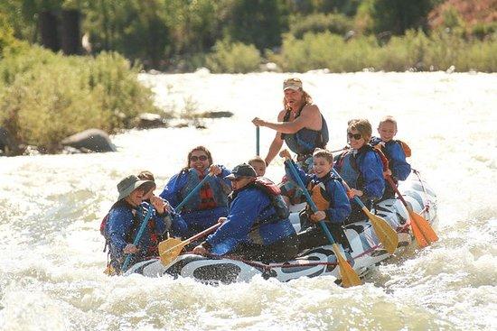 Overnight Raft Trip på Yellowstone...