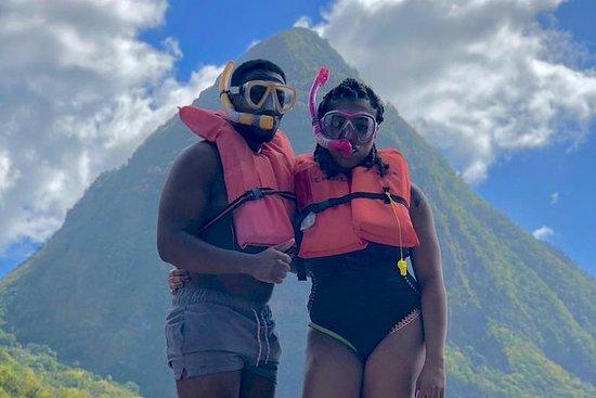 St Lucia Snorkling og Beach Adventure