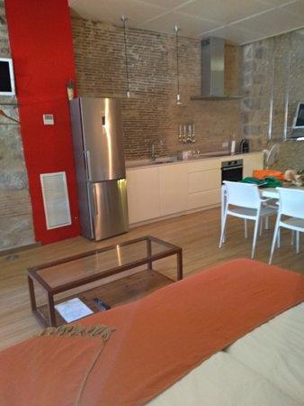 Onyar Apartments: Habitación