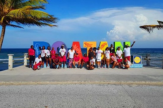 Roatan Sun & Fun - Visite d'une île...