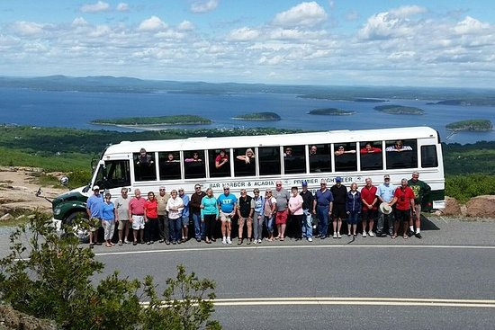 Visite en bus commentée de Bar Harbor...