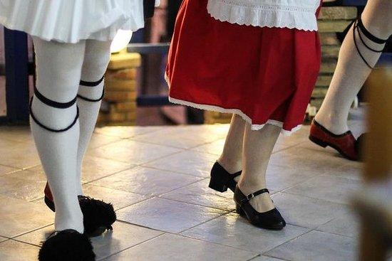 Gresk dans i Plaka med 3-retters...