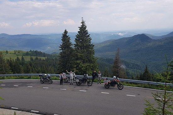 Lo mejor de Rumania en moto