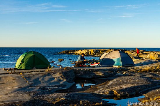 5 days sea kayak tour in Stockholms north archipelago
