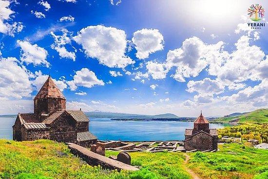 Armênia, excursão em grupo: Lago...