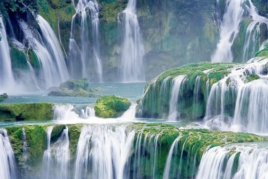Parc national de Ba Be - Chute d'eau...