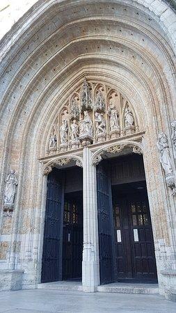 Bryssel, Belgien: Notre Dame du Sablon