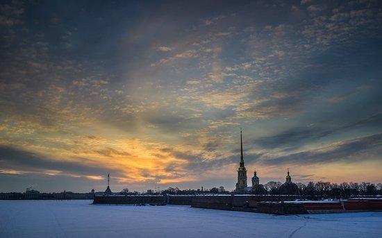 St. Petersburg, Russia: La Fortalesa de San Pedro y San Pablo