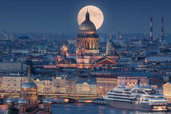 St. Petersburg, Russia: La Catedral de San Isaac