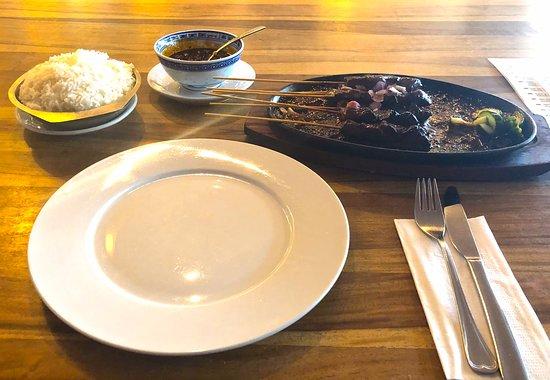 Jawa Restaurant: Sate vom Lamm