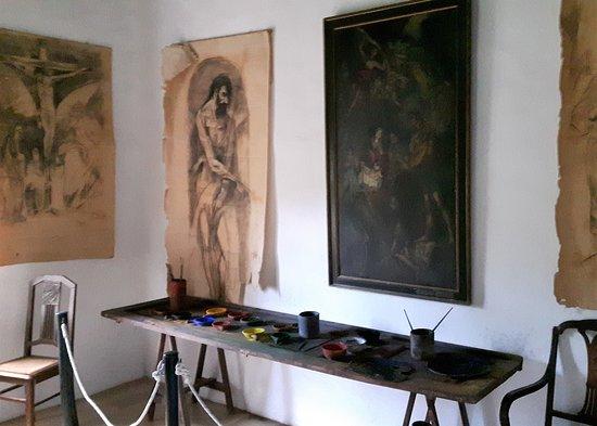 Fodele, Greece: Inside the museum.