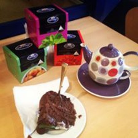 Beautiful Home-made cakes and Welsh Brew Tea