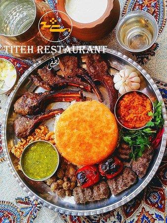 Sarvelat, อิหร่าน: Tray for restaurant