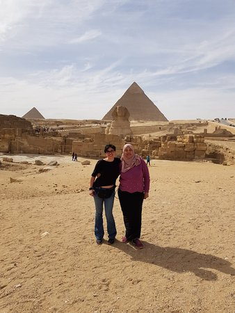 Don't think twice and head to Cairo with Mina!