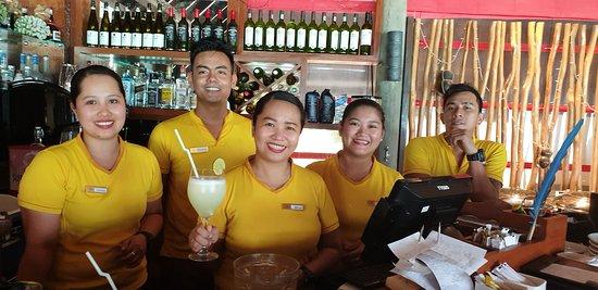 The restaurant crew! Thank you Johanna, Ishwar, Belle, Mina, RJ (and Lerms).