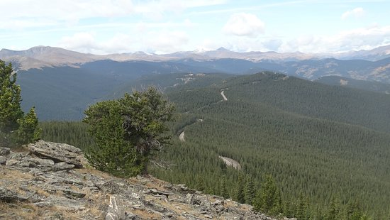 Idaho Springs, CO: View from Chief Mountain!