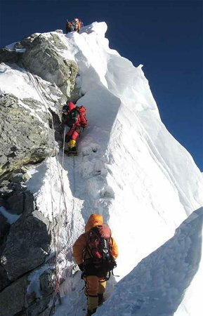 Mount Everest: Everest Climbing Via South Col