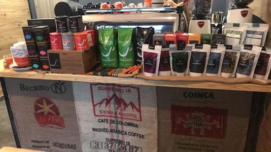 For all those who want to try something new, we offer you a wide selection of coffees.