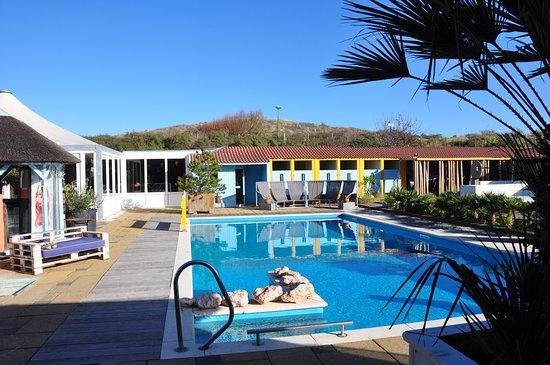 Je kunt alleen zwemmen als je een partij organiseert, maar desalniettemin een fantastische plek!
