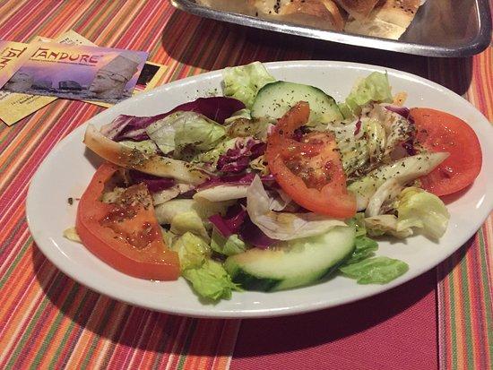 Luechow, Alemanha: Beilagen Salat